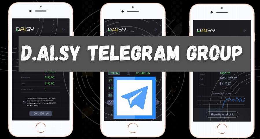 Daisy Telegram Group